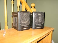 "Koss speakers 8.5"" x 6.5"" x 7"" deep Kitchener, ON, Canada"