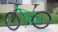 green and black hardtail mountain bike Culver City, 90232
