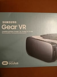 Black and white Samsung Gear VR box Riverview, 33578