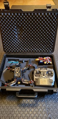 STORM Racing drone and accessories