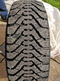 4 winter tires and rims size p175/65R14 Kitchener, N2A 3Z7