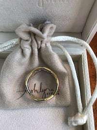 ashyln avenue trio rings in white, yellow, and rose gold size 8 Katy, 77449