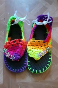 Knitted Sandals
