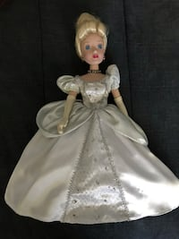 Disney The Brass Key Princess Cinderella Porcelain Doll Columbia, 21044