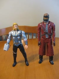 Action figures talking Thor and star lord Niagara Falls, L2H 1X3