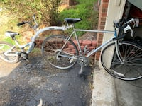 BOTH: classic Raleigh 10 speed and Weeride Co-Pilot Winchester, 40391