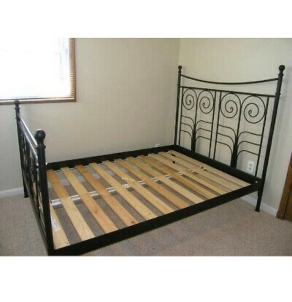 buy online a139c c957f Full size IKEA Noresund bed frame