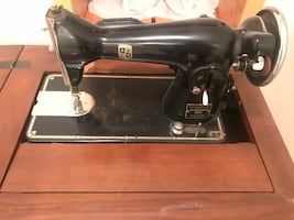Vintage Montgomery Ward Sewing machine table