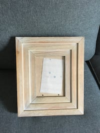 Square brown wooden photo frame Guelph, N1E