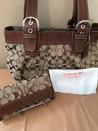 Authentic Coach Bag and Wallet  Ceres, 95307