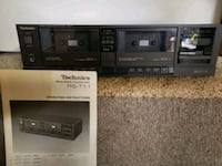 Vintage Technics Double Cassette Play-Record Warren, 44481