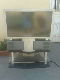 gray rear projection television