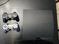 PlayStation 3 Slim Console with 2 controllers (20+ games) Edmonton, T6X 1P3