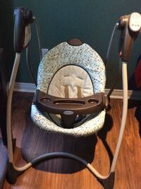 blue and black Graco bouncer seat Ajax, L1S 7C7