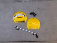 Leaf Scoops, Grabber Tool, and Water Spray Nozzle