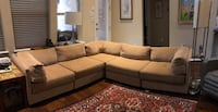 5 Piece L- Shaped Sectional Sofa Austin, 78729