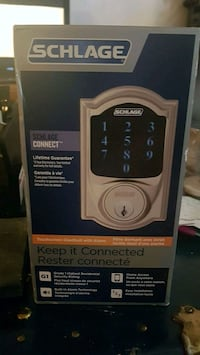 SCHLAGE  Connect touch pad deadbolt Abbotsford, V2S 5A1