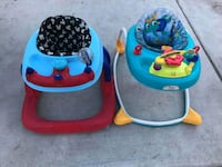 baby's blue and red walker Los Angeles, 90061