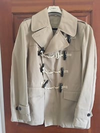 Authentic Burberry Short Trench Jacket with Toggles - Men's XL Falls Church
