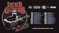 4 Luke Combs Tickets
