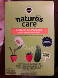 New Nature's Care  plant& garden food