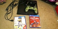 PS4 with 2 controllers and 2 games 89 mi