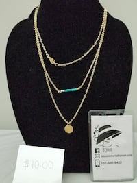 Gold-colored chain necklace Rockville, 20850