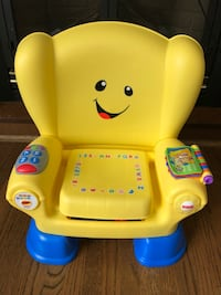 yellow Fisher-Price laugh and learn smart stages chair Calgary, T2B 1A9