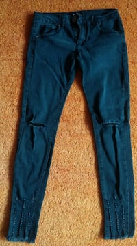 Damen Jeans Hose 7/8 Stretch Gr.S in Anthrazit von One Love  Elsfleth