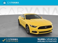 2015 *Ford* *Mustang* V6 Coupe 2D coupe Yellow Downey