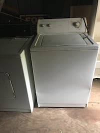 white top-load clothes washer 170 mi