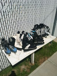 Lot of skates Edmonton, T5B 3N1