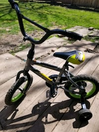Young toddler bike