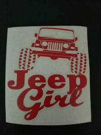 Jeep girl decal in vynil Penns Grove, 08069