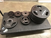 Fitness gear olympic weight plates w/handles Saddle River, 07458