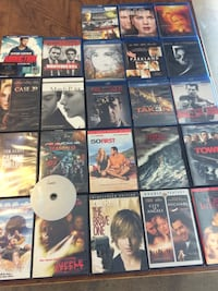 Blu-ray AND Dvds-$25 takes it all