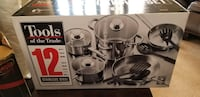 Brand new 12pc Stainless steel cookware Iselin