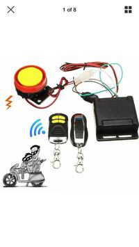 Motorcycle and scooter alarm