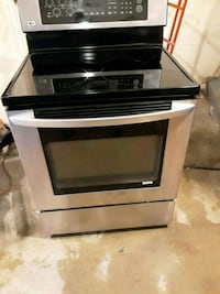 black and gray induction range oven Rockville, 20852