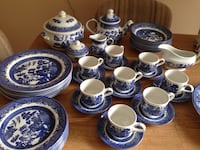 Blue willow Vintage china