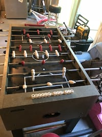 black and gray foosball table North Andover, 01845