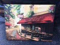 Gorgeous large canvas wall art Paris cafe  Kettering, 45440