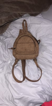 brown leather crossbody bag with tassel Gilroy, 95020