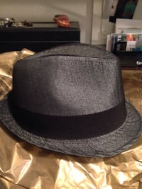 04abc66f84176 Used black and gray fedora hat for sale in Midlothian - letgo