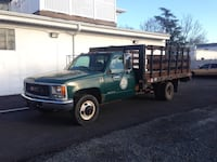 1999 gmc diesel rack truck with liftgate