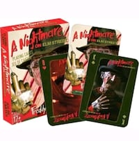 A Nightmare on Elm Street playing cards Chicago, 60609