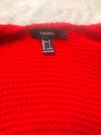 red forever 21 sweater Wilmington, 19805