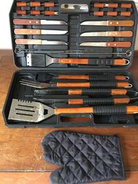 gray and red tool set 6 mi