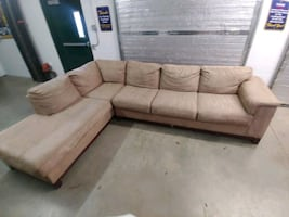 Tan Sectional For Sale! WE CAN DELIVER!!