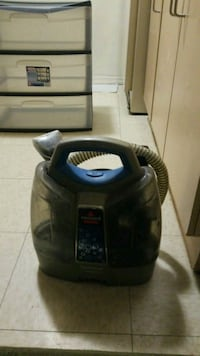 black and blue canister vacuum cleaner Kitchener, N2M 2G7